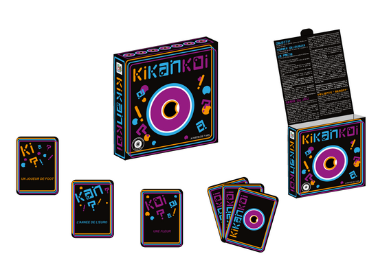 packaging et cartes kikankoi
