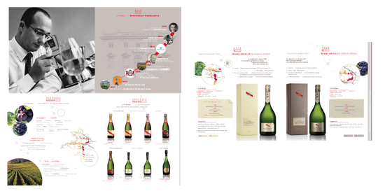 pages du catalogues mumm